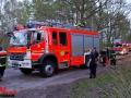 Flächenbrand Müllberg Poppenbüttel ca. 1000m² Feuerwehr verhindert Schlimmeres Foto: Dominick Waldeck