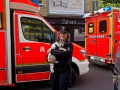 Ausgedehnter Wohnungsbrand 1 Verletzter 5 Evakuierte Wandsbek Foto: Dominick Waldeck