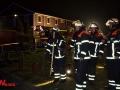 Garagenbrand in Flüchtlingsheim in Bergedorf Foto: Dominick Waldeck