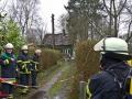 Explosion Rübenkamp Barmbek Einzelhaus fliegt in die Luft