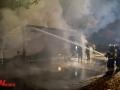 LKW und Pkw in Brand gesetzt Hummelsbüttel. Brandstiftung wird vermutet.