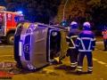 Verkehrsunfall Diagonalstraße / Eiffestraße im Berufsverkehr Person eingeschlossen