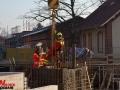 Bauarbeiter stürzt in Fahrstuhlschacht in Langenhorn Foto: Dominick Waldeck