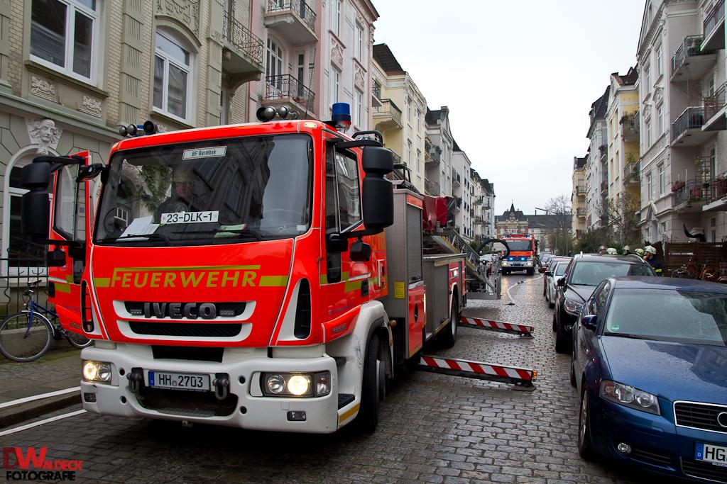 Feuer siemssenstraße