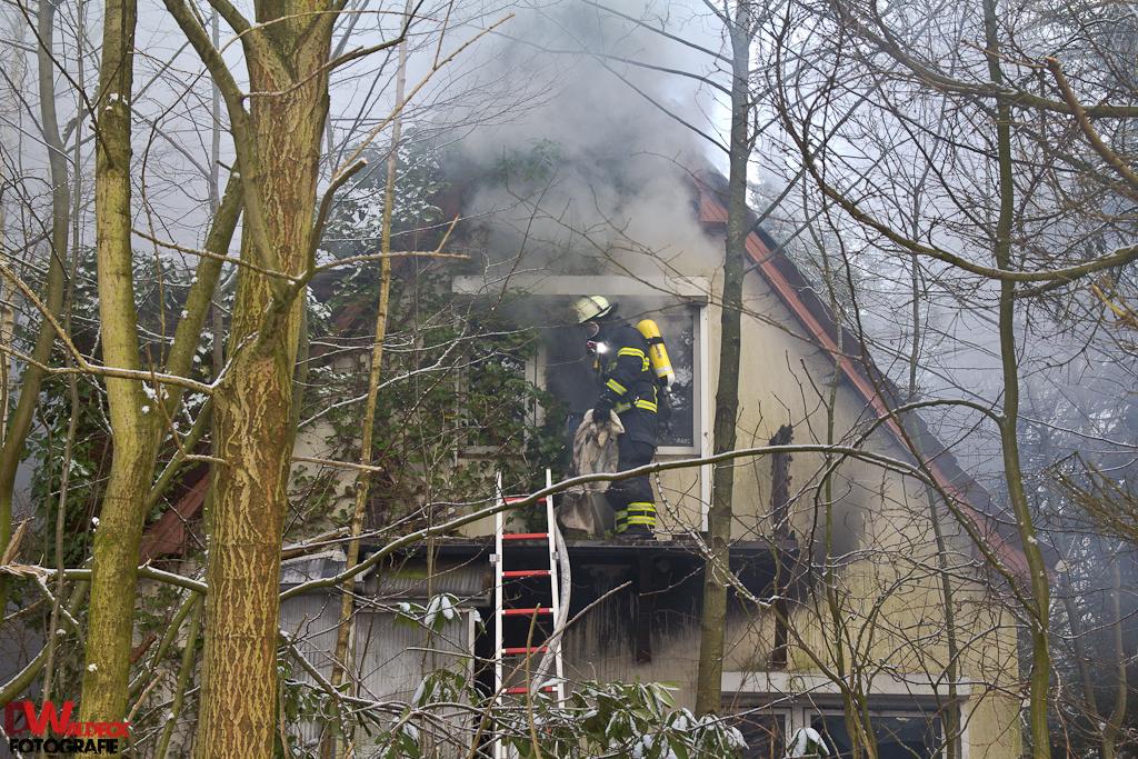 Messie-Haus abgebrannt in Langenhorn