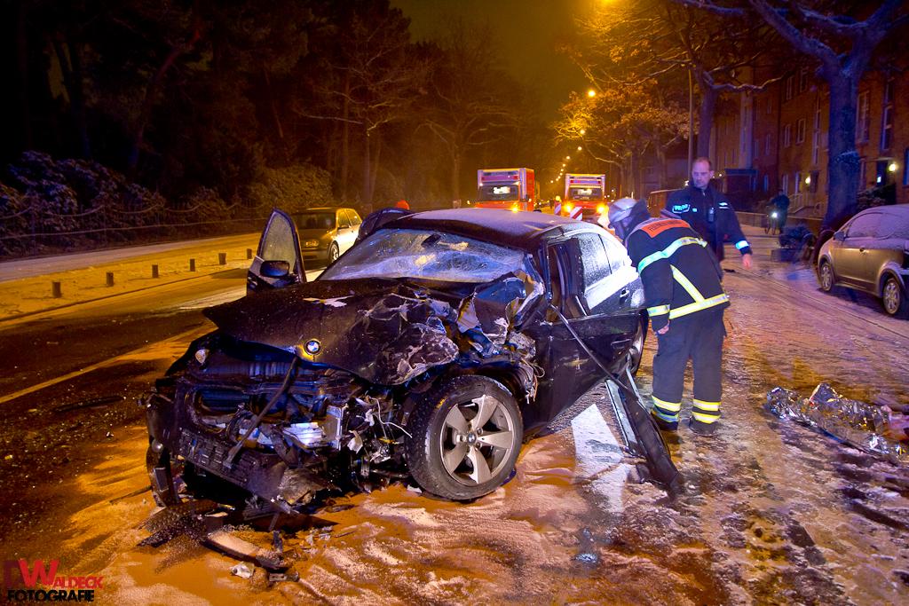 Schwerer Unfall Fuhlsbüttler Straße