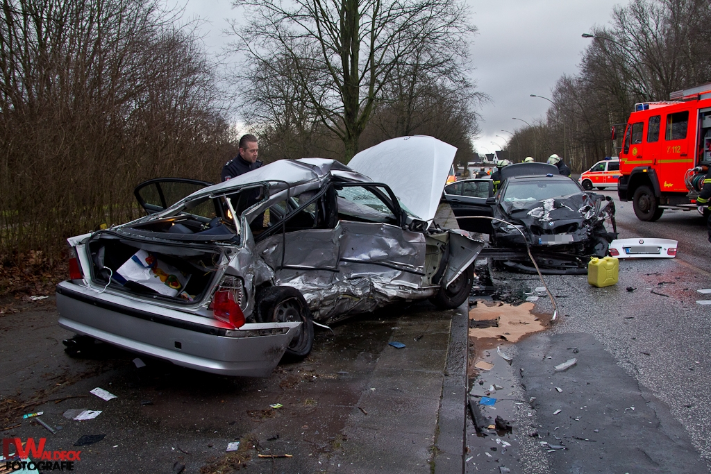 Verkehrsunfall 1 Toter Stein-Hardenberg-Straße