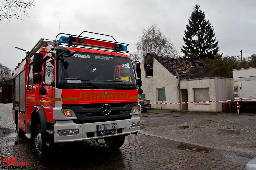 Tödliches Feuer in Barmbek