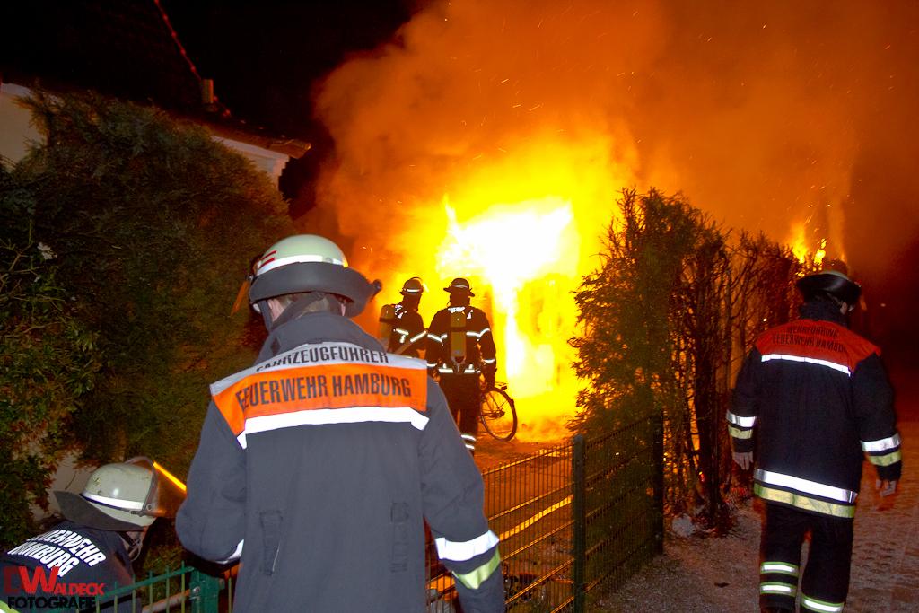 Hausbrand Meiendorf 2 Verletzte