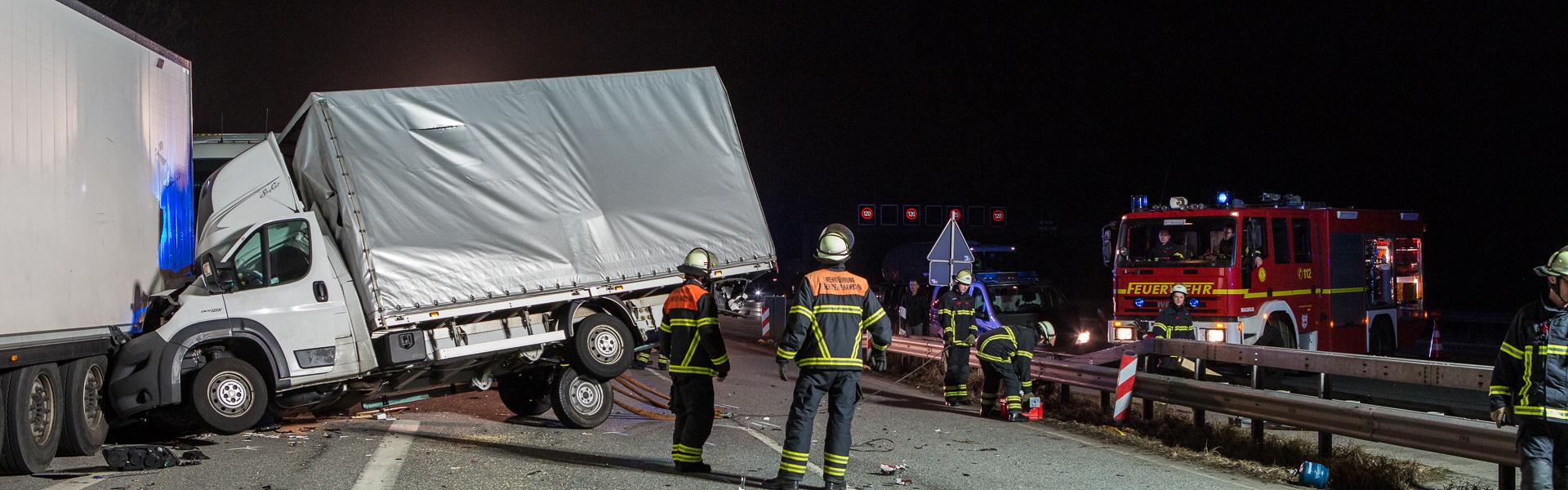10.03.2017 – Schutzengel über der A1 verhindert Schlimmeres