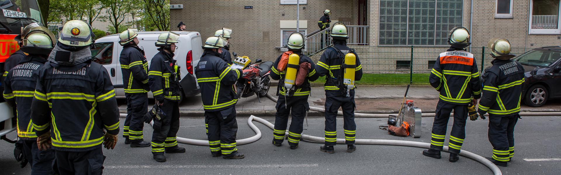 29.04.2017 – Eine verletzte Frau nach Zimmerbrand