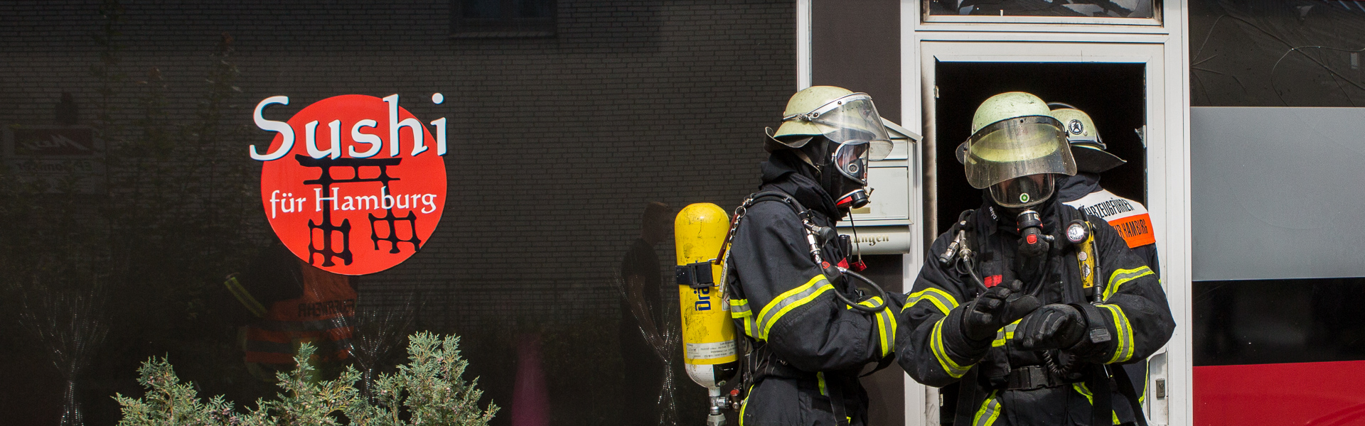 27.08.2017 –  Sushi Restaurant in Poppenbüttel ausgebrannt