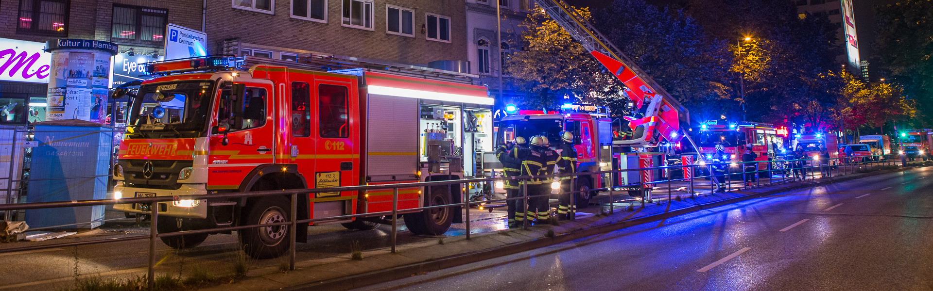 14.09.2017 – Zimmerbrand auf der Reeperbahn