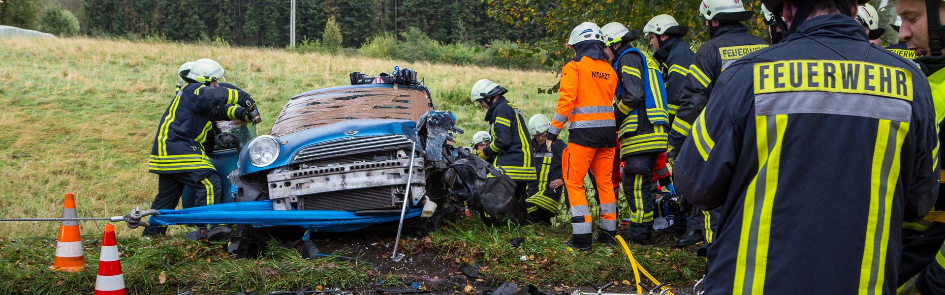 07.10.2017 – Sieben Verletzte durch Verkehrsunfall in Ahrensburg