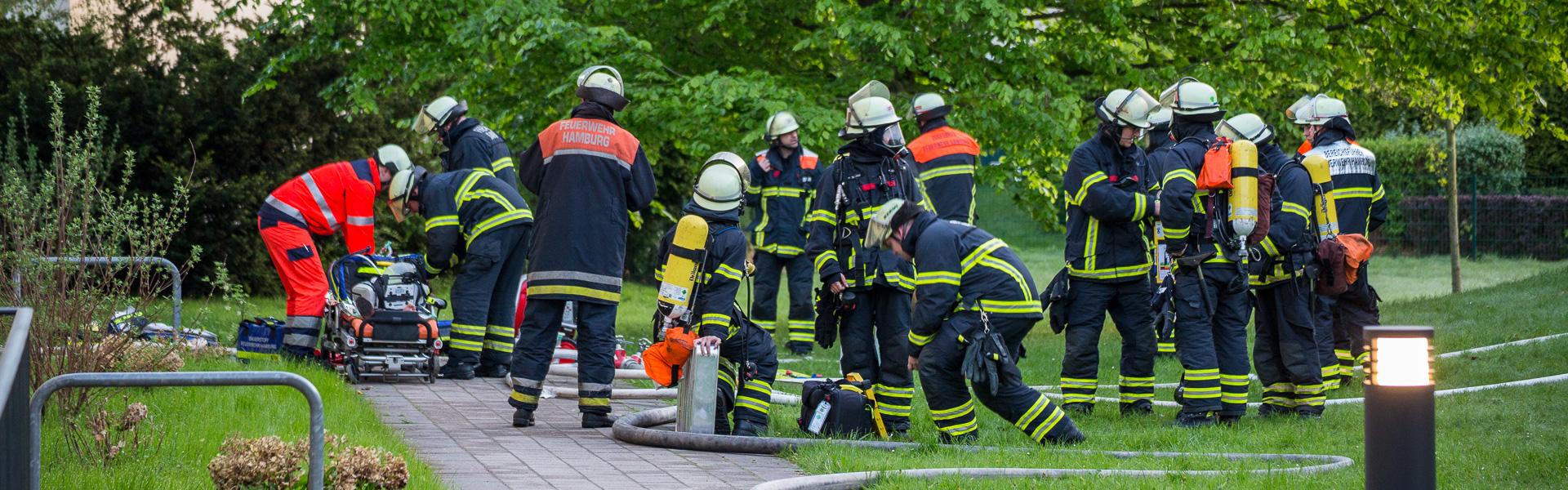 02.05.2018 – Mehrere Verletzte durch Wohnungsbrand