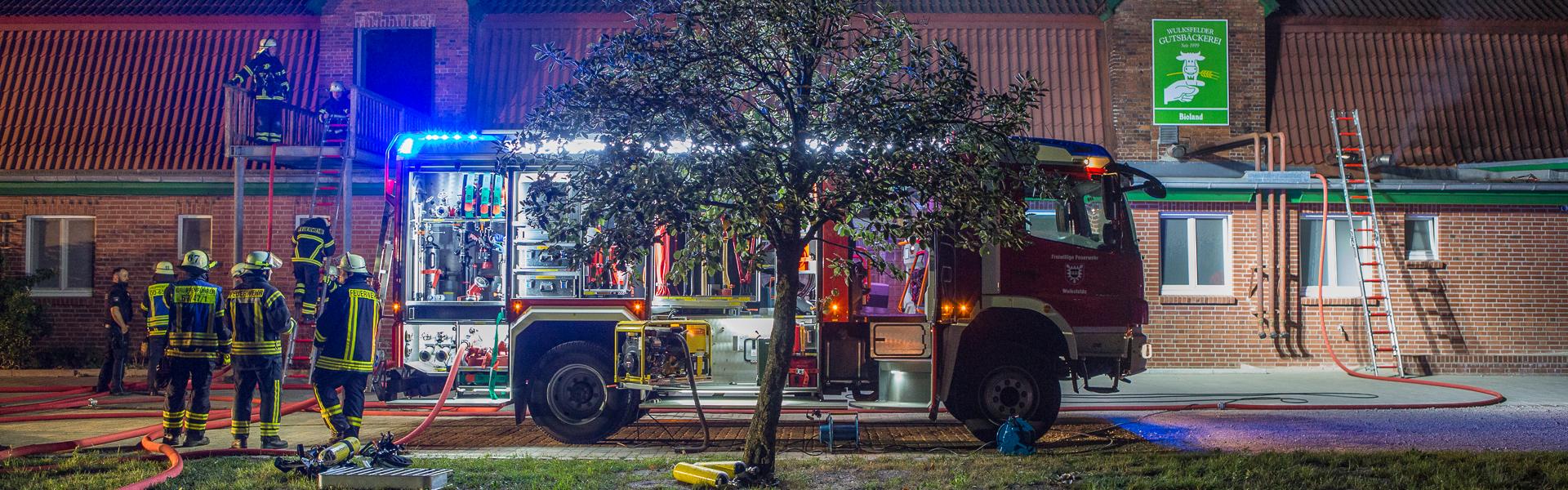 16.08.2018 – Feuer auf Gut Wulksfelde