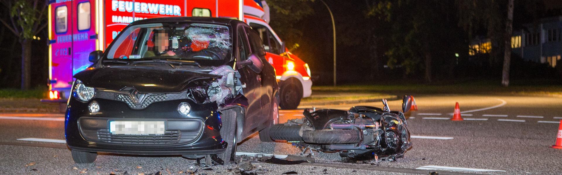 09.10.2019 – Motorradfahrer bei Unfall schwer verletzt