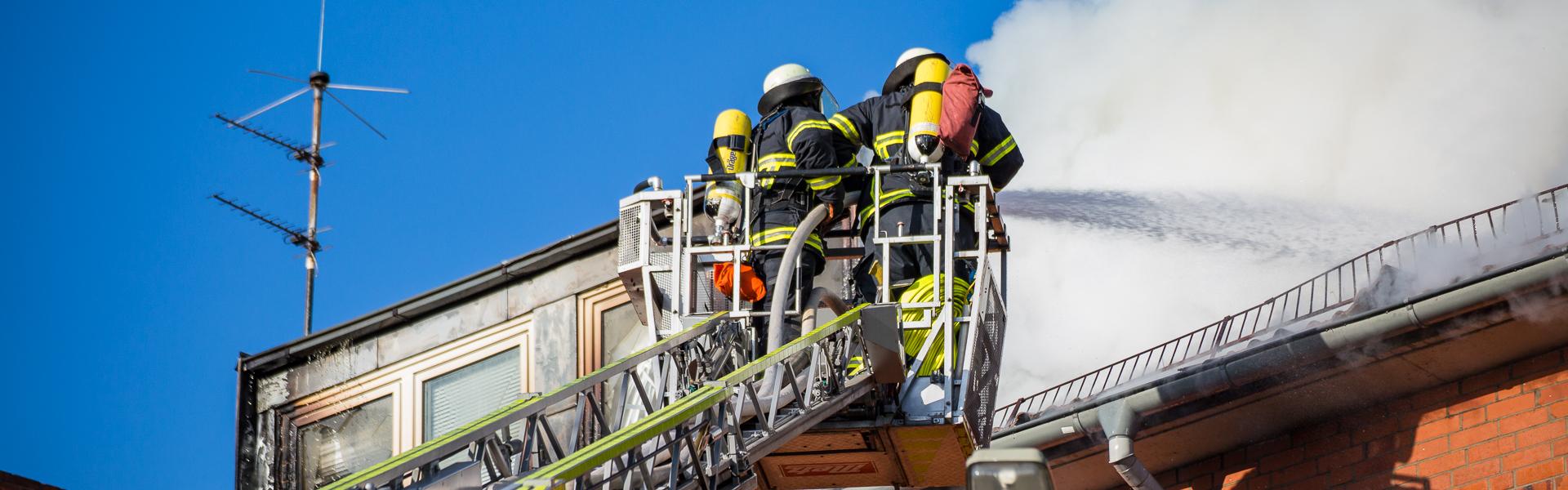 06.05.2020 – Dachstuhlbrand in HH-Horn