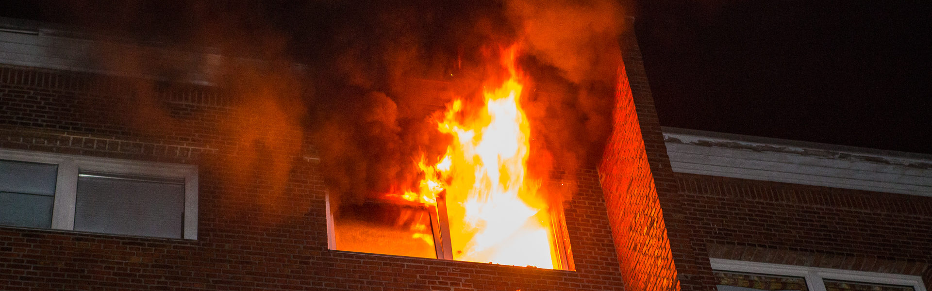 17.05.2020 – Mann entkommt Flammenhölle in HH-Barmbek