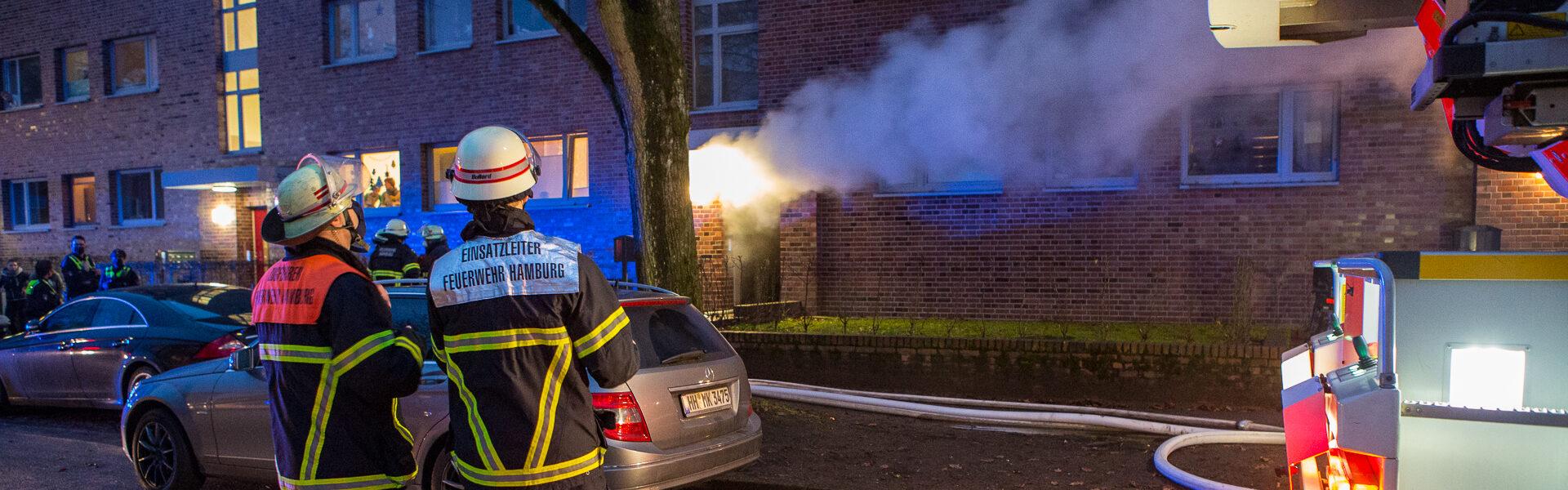 16.12.2020 – Kellerbrand verraucht mehrere Häuser