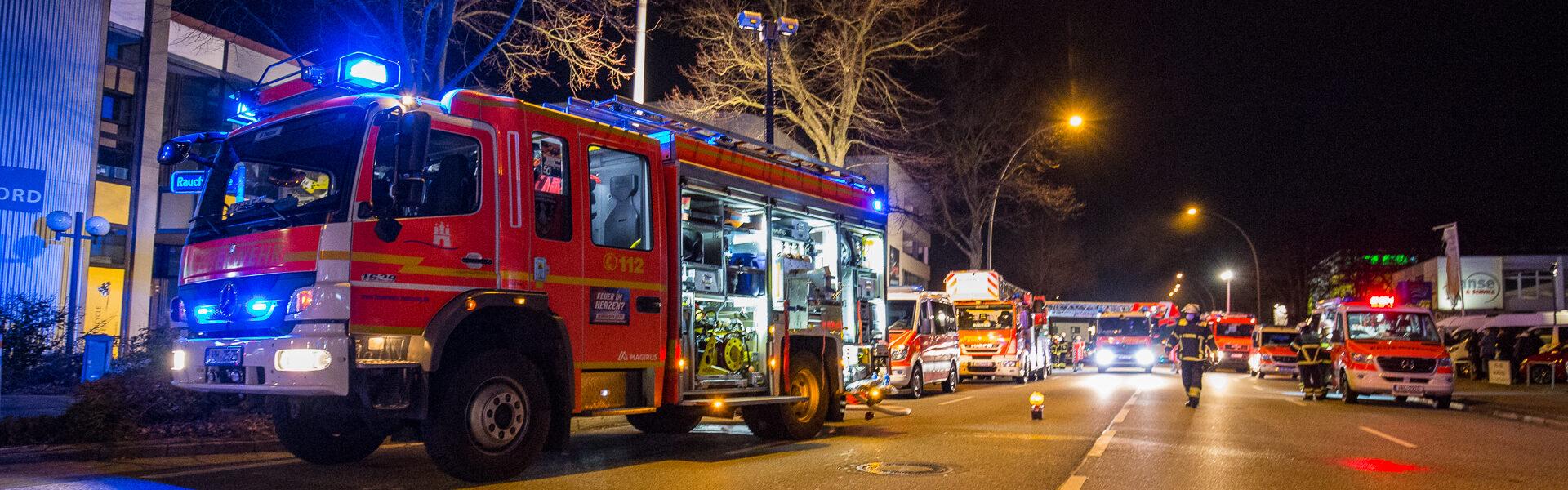 21.01.2021 – Feuer zerstört Betriebsfläche von Rohrreinigung
