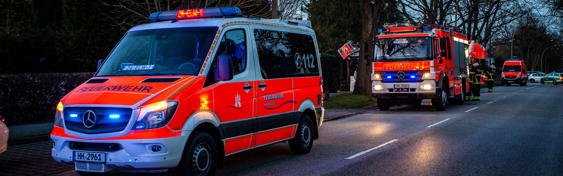 16.03.2021 – Schornsteinbrände beschäftigen die Feuerwehr Hamburg
