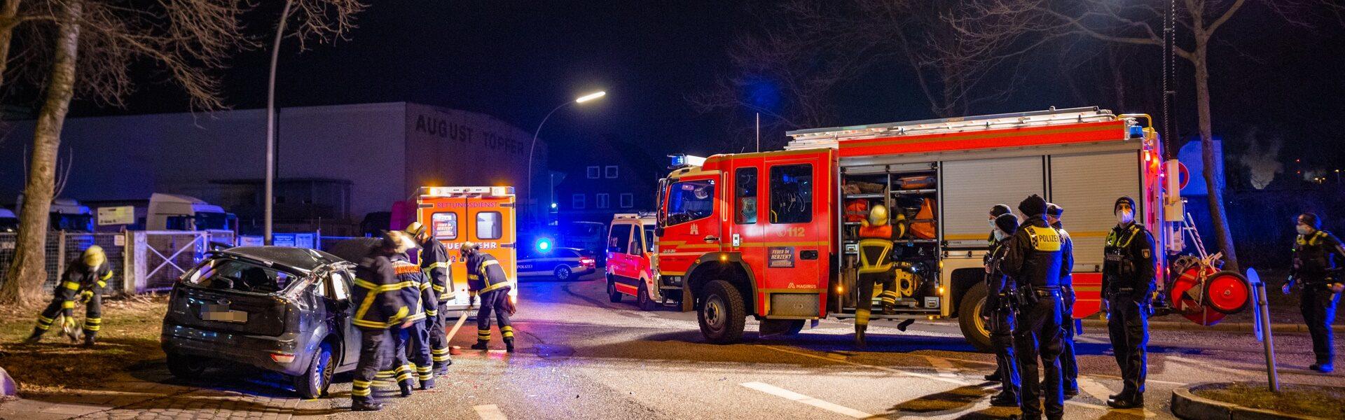 17.03.2021 – Schwerer Verkehrsunfall in Rothenburgsort