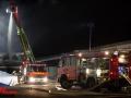 Werkstattbrand in Norderstedt 2. Alarm Foto: Dominick Waldeck