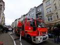 Feuer Siemssenstraße leerstehende Wohnung