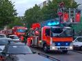 Kellerbrand in Mehrfamilienhaus - 2 Pers. gerettet