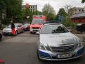 Messerstich Oppelner Straße Jenfeld - Frau sticht Mann nieder