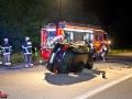 PKW überschlägt sich auf Autobahn im Dreieck HH-Süd - Fahrer vermutlich alkoholisiert