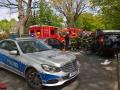 PKW überschlägt sich nach Verkehrsunfall Poppenbüttler Weg