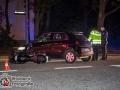 Am Mittwochabend kam es am Luisenhof zu einem schweren Verkehrsunfall. Ein Renault-Fahrer übersah beim Linksabbiegen einen herannahenden Motorradfahrer. Dieser konnte nicht mehr rechtzeitig bremsen und es kam zur Kollision. Der Motorradfahrer wurde schwer verletzt und kam mit einem Notarzt in ein Krankenhaus. Für die Unfallaufnahme musste die Straße einseitig gesperrt werden. Foto: Dominick Waldeck