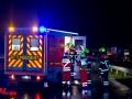 Verkehrsunfall A1 Ahrensburg Stapelfeld 1Lebensgefährlich