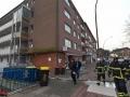 Verpuffung in Polsterei in Barmbek - 1 Schwerstverleter