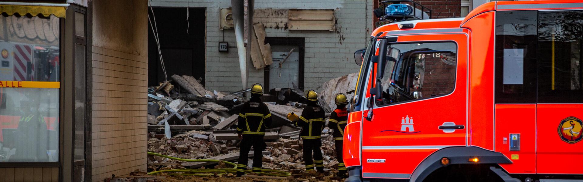 31.05.2021 – Schwere Explosion erschüttert Barmbek